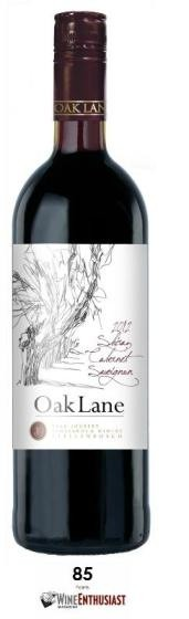 Shiraz-Cabernet-Sauvignon 2017 Oak Lane